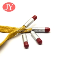 Buy cheap double color transfer plastic aglets fashion trancksuit drawstring cords sports from wholesalers