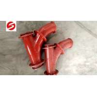 Buy cheap Ceramic Lined Lateral pipe Wye from wholesalers