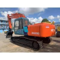 Buy cheap Hitachi ex200 ex220 Cheap japanese Middle size excavator crawler excavator 10 from wholesalers