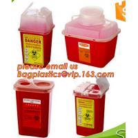 China BIOHAZARD SHARP CONTAINERS, STORAGE BOX, CRATES, PET FOOD BOWL, DUSTBINS, PALLETS, BOXES, BANGDAGES, wholesale