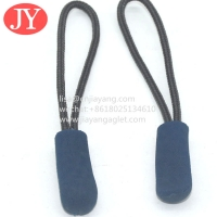 China Jiayang 2021new style garment accessories Latest Design Best Price Plastic Embossed Zipper Puller For Handbag wholesale