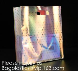 China HOLOGRAPHIC NEON TOTE PVC BAG,VINYL SHOPPING SHOPPER,TOILETRY BIKINI SWIMWEAR BEACHWEAR WOMAN BAG wholesale