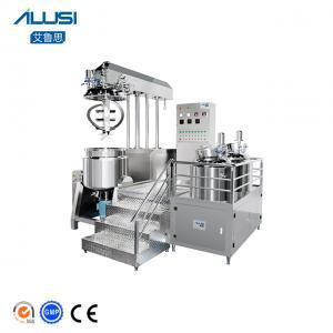 China Ailusi Cosmetic Cream Vaccum Emulsifier Homogenizer Mixer wholesale