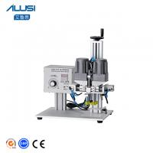 China Pneumatic Semi Automatic Screw Capping Machine Price wholesale