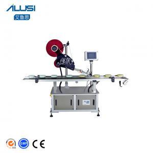 China Pouch Automatic Sticker Flat Plane Labeling Machine wholesale