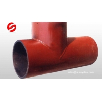 Buy cheap Ceramic lined composite pipe tee from wholesalers