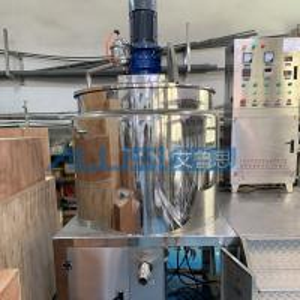 China Industrial Liquid Soap Making Machine Body Washing Showe Gel Mixer Production Line wholesale