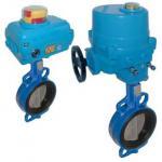 China eccentric butterfly valve-double flange valve wholesale