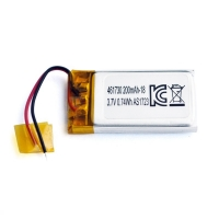China UN38.3 200mAh 3.7 V Lithium Polymer Battery Pack PL461730 wholesale