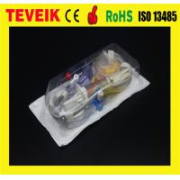 China CE ISO Disposable IBP Transducer set medical device parts with Abbott connector wholesale