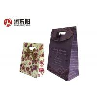 China Custom Printing Wedding Paper Gifts Bags Biodegradable With Patch Handle wholesale