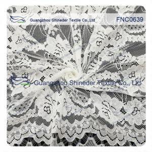 Quality Flower light holes Nylon&Cotton Fabirc for garment & Spring pr Summer for sale
