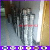 Buy cheap 180mesh SS304 97mm 127mm 130mm 150mm belt filter mesh for screen changer from wholesalers