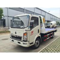 Buy cheap Mini  Howo 4 x 2  Light Duty Commercial Trucks , 5t Towing Wrecker Truck/broken vhicles carrier from wholesalers