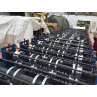 China 8 - 12 M / Min Double Layer Roll Forming Equipment 7.5Kw Cold Roll Forming Machine on sale