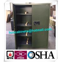 China Fireproof Gun Storage Industrial Safety Cabinets , Gun Powder Storage Flame Proof Storage Cabinets wholesale