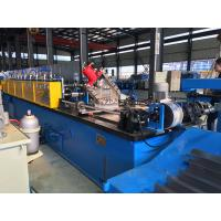 China Hydraulic or Manual C Purlin Roll Forming Machine Drive by Chain High efficiency wholesale
