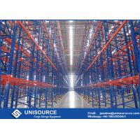 China High Density Industrial Garage Shelving Upright Frame With Long Warranty Time wholesale