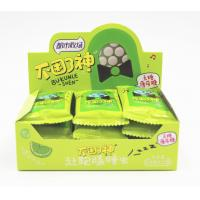 Buy cheap 6.8g Lime Flavor Sugar Free Mint Candy , with Vitamin C spearmint candy snack from wholesalers
