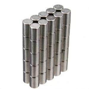 China Neodymium Magnets Cylinder shape Permanent Neodymium Magnets By Strong Neodymium Iron Boron wholesale