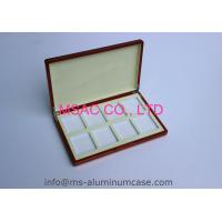 China Empty Aluminum Poker Chip Case Custom Poker Chip Display Case 389 X 200 X 69mm on sale