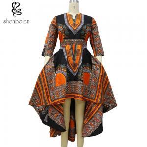 China Wax fabrics African Print dresses for women dashiki batik prints Location flower wholesale