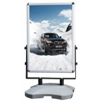 China Outdoor Advertising Snap Frame Stand With Water Base Aluminum Material wholesale
