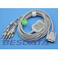 Quality 10 Leads ECG EKG Cable IEC Needle / Clip / Banana Electrode Compatible BJ-901D for sale