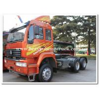 China SINOTRUCK Golden Prince 4x2 286 HP tractor head / prime mover for pulling Low bed semi trailer wholesale