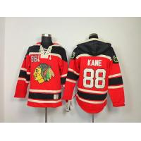 China NHL Chicago Blackhawks 88 Patrick Kane Red Hoodies Jersey Old Time Hockey wholesale