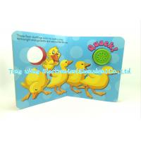 Round Sound Module for Animal Sounds Book indoor Educational Toy