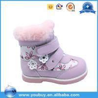 China Kids Orthopedic Shoes Wholesale China Kids Casual Shoes,Russian Baby Comfort Leather Boots on sale