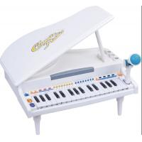 China Functional Plastic Toddler Toy Piano 32 Keys Grand Type With Microphone wholesale
