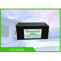 China 12 Volt 300Ah RV Battery Deep Cycle High Inrush Current Bluetooth / WIFI Connection wholesale