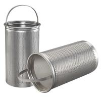 Buy cheap Basket Washable Furnace Filters Stainless Stell Mesh For Liquid Filtration from wholesalers