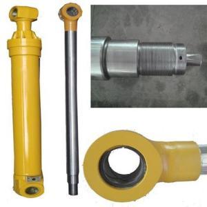 China Customized double action telescoping excavator hydraulic cylinder with single rod wholesale