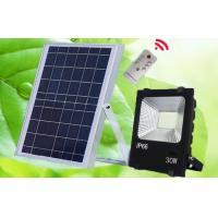 Buy cheap MarsFire 30W 5730 led solar flood light, 6V 15w polysilicon led rechargeable from wholesalers