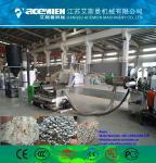 Single screw recycling and pelletizing machine