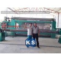 China Galvanized Gabion Production Line With Accurate Mesh With PLC Control System wholesale
