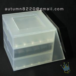 China BO (25) acrylic suggestion box wholesale