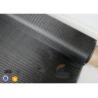 China 3K 200g 0.3mm Carbon Fiber Fabric For Reinforcement , Heat Resistant Insulation Materials wholesale