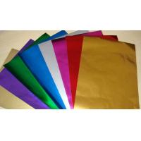 China Embossing Colored Aluminum Foil For Chocolate Wrapping Non Toxic / Hygienic wholesale