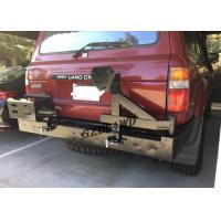 China 4x4 Rear Bumper With Spare Tire Holder For 92-97 Land Cruiser FJ80 Series LC80 LX450 wholesale