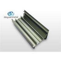 China Customized  Silver Polishing  Aluminum Extrusion Profile For Floor Strip 6060-T5 / T6 wholesale