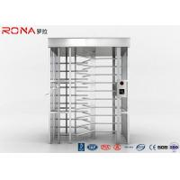 China 120 Degree Single Channel Full High Turnstile High Security 20 -30 Persons / Minute wholesale