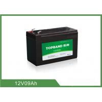 China 9Ah 12 Volt Lithium Battery Deep Cycle , Rechargeable Lithium Battery Pack wholesale