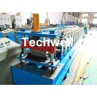 China HRC58-62 Hardness Standing Seaming Roofing Panel Machine For Making Roof Wall Cladding , Roofing Sheet wholesale