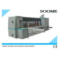 China Automatic Rotary Die Cutting And Creasing Machine For Corrugated Cardboard With Pre - Creaser wholesale
