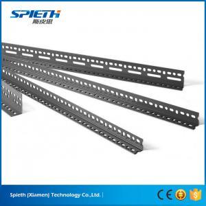 China China Manufacturer Steel Custom Size Light Duty Slotted Angle Iron Shelving on sale