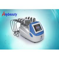 China 3 Size Portable Lipo Laser Slimming Machine for cellulite removal 100 - 240V AC wholesale